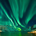 Northern Lights with Scenic Train and Hurtigruten Cruise